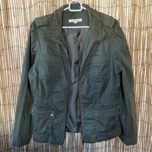 Ann Taylor Loft Khaki jacket